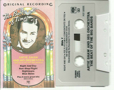 Artie Shaw and His Orchestra - The Beat Of The Big Bands Cassette Jazz