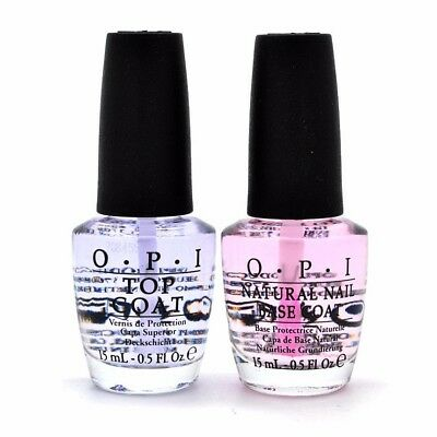 OPI Natural Nail BASE COAT and TOP COAT 0.5oz YOU PICK