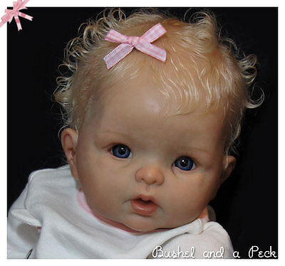 "SALE 18"" vinyl reborn doll KIT ""Sweet Cheeks"" by Emily Jameson baby!"