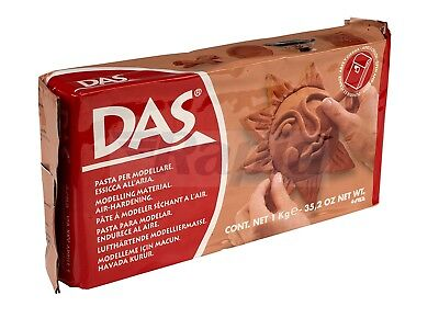 DAS 387600 Air Drying Modelling Clay 1kg Terracotta