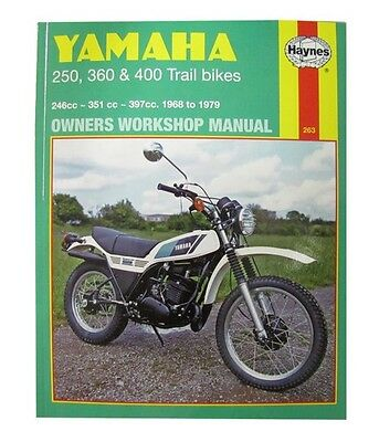 NEW Haynes Manual For Yamaha DT250 75-79,RT360 70-73,DT360,DT400 74-77