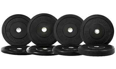 NEW 190 lbs OFW Bumper Plates Olympic Weight Plates For CrossFit OneFitWonder