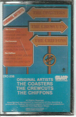 The Coasters, The Crewcuts, The Chiffons - Original Artists Cassette SEALED Pop