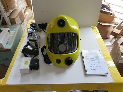 NEW Fire Fighters Helmets+Breathing Apparatus SOLOTIC Solo Thermal Imaging NIB