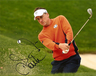 Ian Poulter Genuine Authentic Signed Golf 10X8 Photo Aftal Uacc [10209]