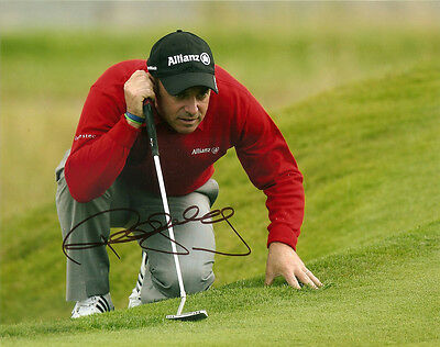 Paul Mcginley Genuine Authentic Signed Golf 10X8 Photo Aftal Uacc [10309] Proof