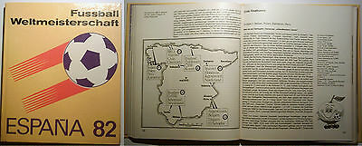 Orig.Book / Report     World Cup SPAIN 1982  !!     Special Edition   //  RARITY