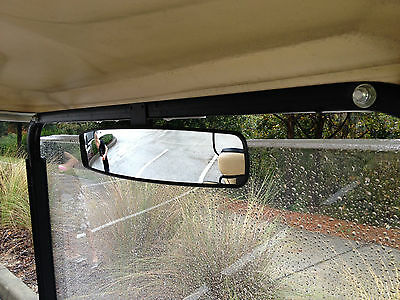 """16.5"""" Xtra Wd Panoramic Rearview mirror for golf carts EZ-Go, Yamaha, and Club.."""