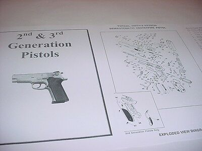 Smith & Wesson 5906 9mm Pistol Gun Parts Diagram w/ Part Numbers & Price List