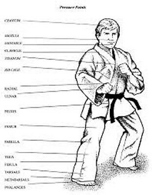 Martial Arts Nerve Center & Pressure Points Collection 5 eBooks on CD-R