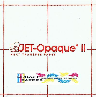 "Inkjet Transfer Paper For Dark Fabric: Neenah ""jet Opaque Ii"" (8.5""x11"") 100 Ct"