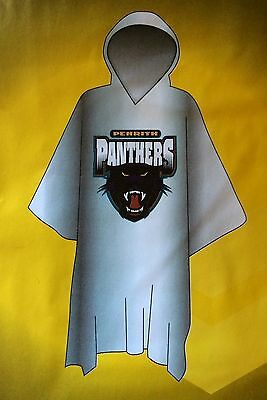 Penrith Panthers NRL Poncho * Plastic Rain Coat with Team Logo