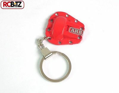 ARB Branded METAL Diff Cover Keychain RED RC4WD Z-L0001 w/ sticker Sheet