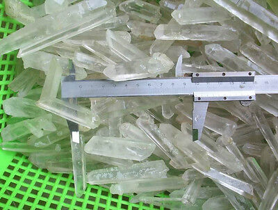 2.2LB NATURAL CLEAR WHITE QUARTZ CRYSTAL POINTS ORIGINAL Brazil Wholesales Price