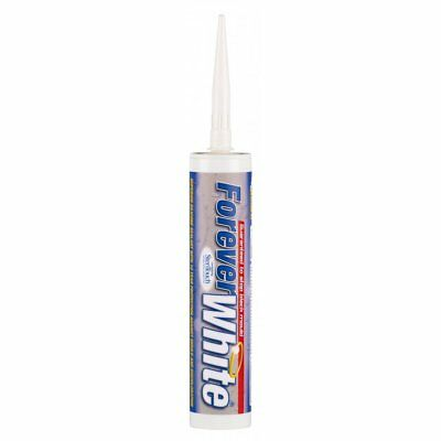 Forever White C3 Everbuild Anti-Mould Silicone Sealant Steritouch