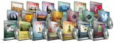 Self Help Hypnosis Hypnotherapy Audio 20 MP3 DVD Package Resell Rights