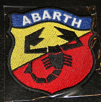 FIAT ABARTH Aufnäher gross Patch NEU