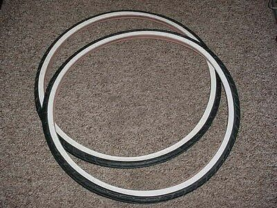BIKE TIRES 700 38 C  WHITE WALL