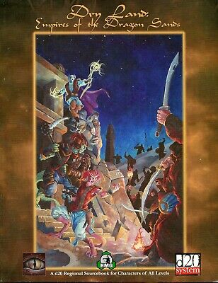 d20: Dry Land: Empires of the Dragon Sands (New)