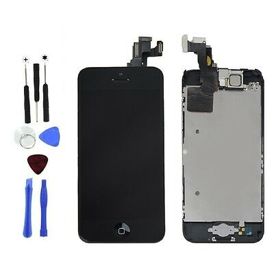 LCD Lens Touch Screen Display Digitizer Assembly Replacement for iPhone 5C Tools