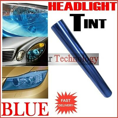 60cm BLUE Car Van Vehicle Headlight Tail Lights Tinting Wrap Protection Film
