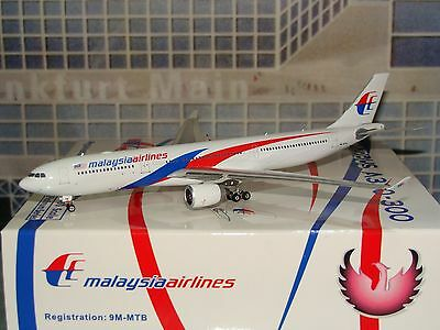 Phoenix 400 Malaysia Airlines A330 -300 9M-MTB N/C 1/400 **Free S&H**