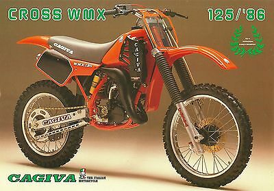 1986 Cagiva Cross Wmx125 Sales Sheet (Usa)