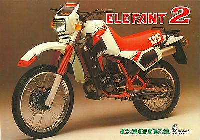 Cagiva Elefant 2 Sales Sheet (Italian)