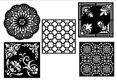 Creative Expressions That special Touch Mica  Mask stencil, patten choice