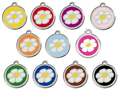Daisy Engraved Dog / Cat ID identity Tags / discs by Red Dingo (1DA)