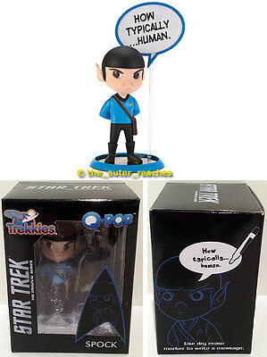 Quantum Mechanix QMx Star Trek Original Series TREKKIES Q-POP Chibi SPOCK Figure