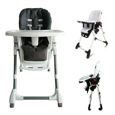 Free Post New Adjustable Portable Baby Highchair High Chair Feeding Kids Toddler
