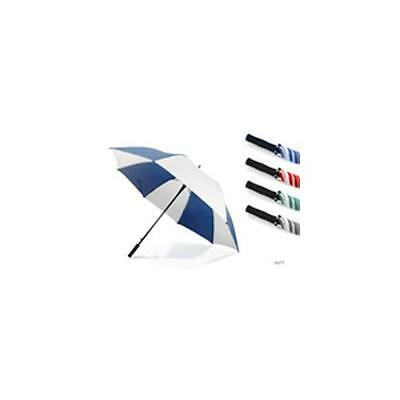 "KS Brands UU0071 30"" Automatic Golf Umbrella Assorted Colours Black Red Blue New"
