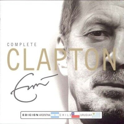ERIC CLAPTON COMPLETE CLAPTON SEALED 2 CD SET NEW  GREATEST HITS BEST