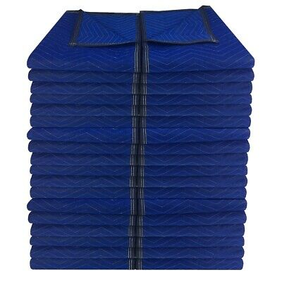 """36 Economy Moving Blankets 72x80"""" 43# Professional Quilted Storage Blanket"""