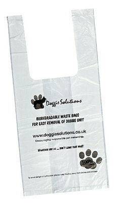 Biodegradable Poop Bags Eco Friendly Dog Poo bags from Doggie Solutions