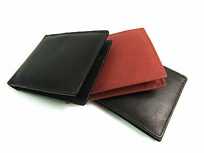 New Mens Ladies Small Soft Leather Wallet Purse Credit Card Holder Coin Pouch