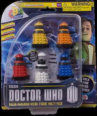 Doctor Who Dalek 5 figure character building, Lego compatible