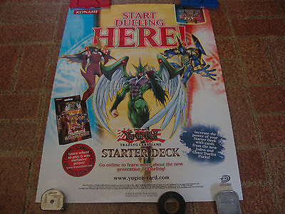 Yu-Gi-Oh---Poster---Promo---2 Sided---From Upper Deck---18x24---2004---VHTF