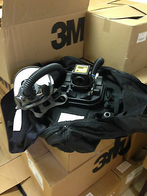 3M RRPAS Breath Easy Turbo Respirator Gas Mask ( Med.) Cost $1,189.00