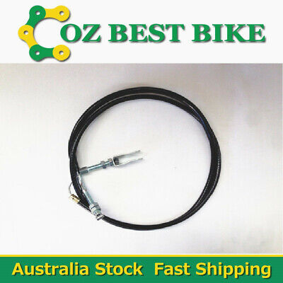 Go Kart Brake Safety Cable 1450mm Long with Clevis For Solid Brake Rod Backup