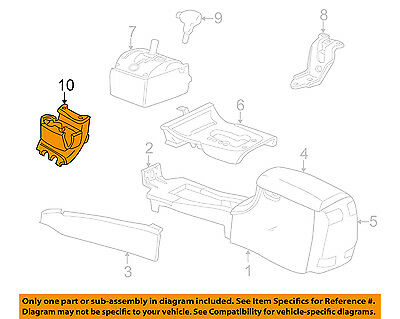 CHRYSLER OEM 01-04 Concorde Center-Console-Cup Holder RD49XT5AC