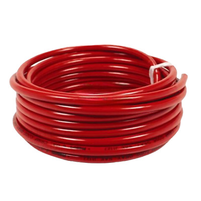 10m Red Battery Welding Cable 25mm² 170a - Flexible Marine Boat Automotive Wire