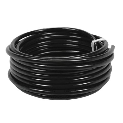 10m Black Battery Welding Cable 35mm² 240a -Flexible Marine Boat Automotive Wire