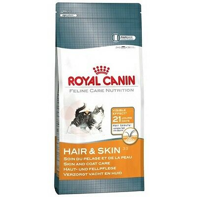 Royal Canin, Hair & Skin, Dry Cat Food Supports A Healthy Skin And Shiny Coat