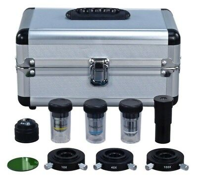 Phase Contrast Set for Compound Microscope w Three Condensers+Three Objectives