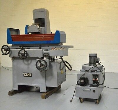 """1987 Kent Kgs-1020Ahd 10"""" X 20"""" Hydraulic Surface Grinder W/ Automatic Downfeed"""