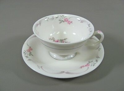Reduced! Castleton China BELROSE Cup & Saucer Set(s)