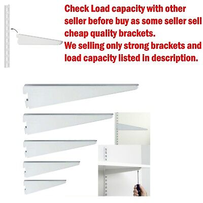 New Brackets For Twin Slot Shelving System  Support Adjustable Racking