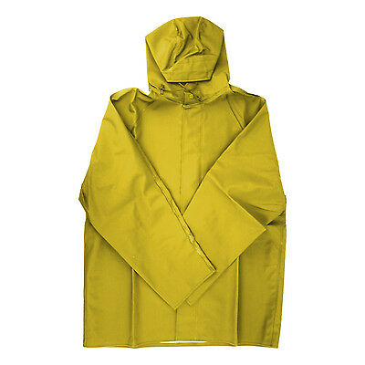 Dutch Harbor Gear HD201-YEL-XL Yellow XL Quinault Rain Jacket